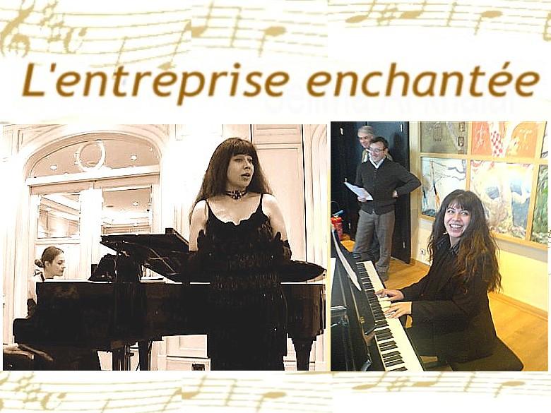 Cours de chant Paris pour debutants entreprise-enchant